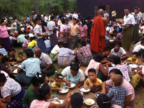 A community meal
